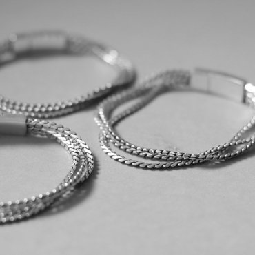 52771/52772/52773 Antique Silver