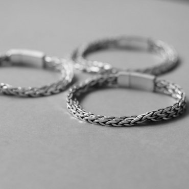 52798/52799/52800 Antique Silver